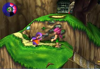 Screenshot Thumbnail / Media File 1 for Tomba! 2 - The Evil Swine Returns [U]